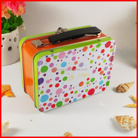 factory custom tin metal lunch boxes for kids