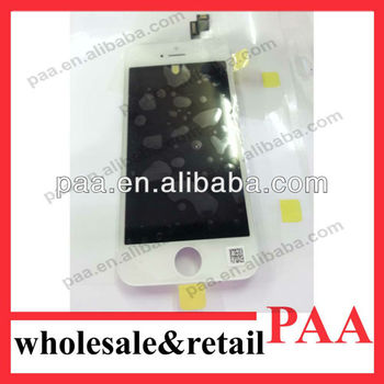 2013 Newest Arrival LCD For iPhone 5S LCD with Digitizer Assembly