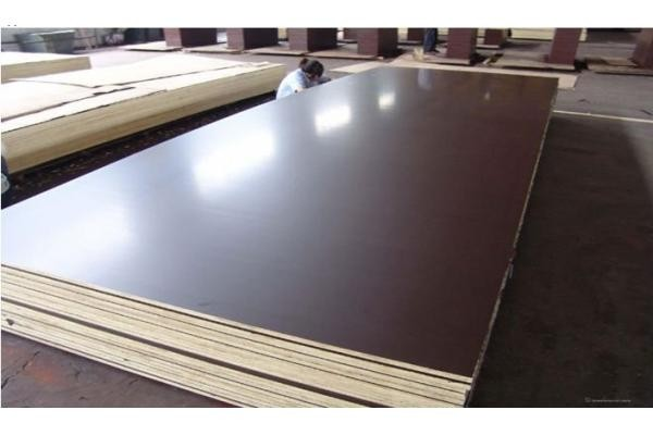 1220mm*2440mm good quality black brown film faced plywood used for Exterior Construction and concrete forms