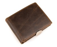 JMD Vintage Genuine Leather Wallet For Men Business Card Horder Wholesale # 8054B