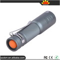 Wholesale Price XP-E LED 650 Lumens 3 Mode Tail Switch Aluminum LED Flashlight Torch