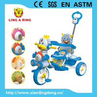 Smart cheap baby tricycle with music and lighting head Hot sale new children tricycle with roof Smart kid's tricycle