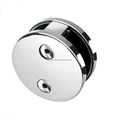 SS304/316 mirror Stainless Steel door Glass Round clip Clamp for bathroom swimming pool