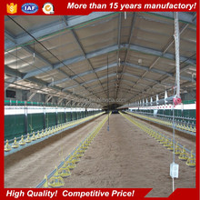 Complete Controlled Poultry Shed Farm building prefabricated lght steel structure Chicken House for sale