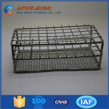Hot selling medical instrument cleaning autoclave basket heavy duty stackable wire mesh basket