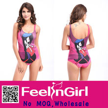 Hot Sale Attractive Cute Girl Pattern Child Swimsuit Models