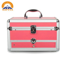 China Wholesale Case Factory Cosmetic Case with Brush Holder