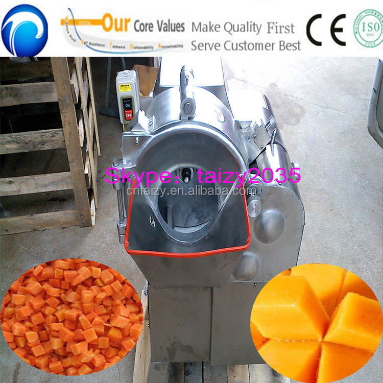 Potato/carrots/apple/mango dicer/cutting machine