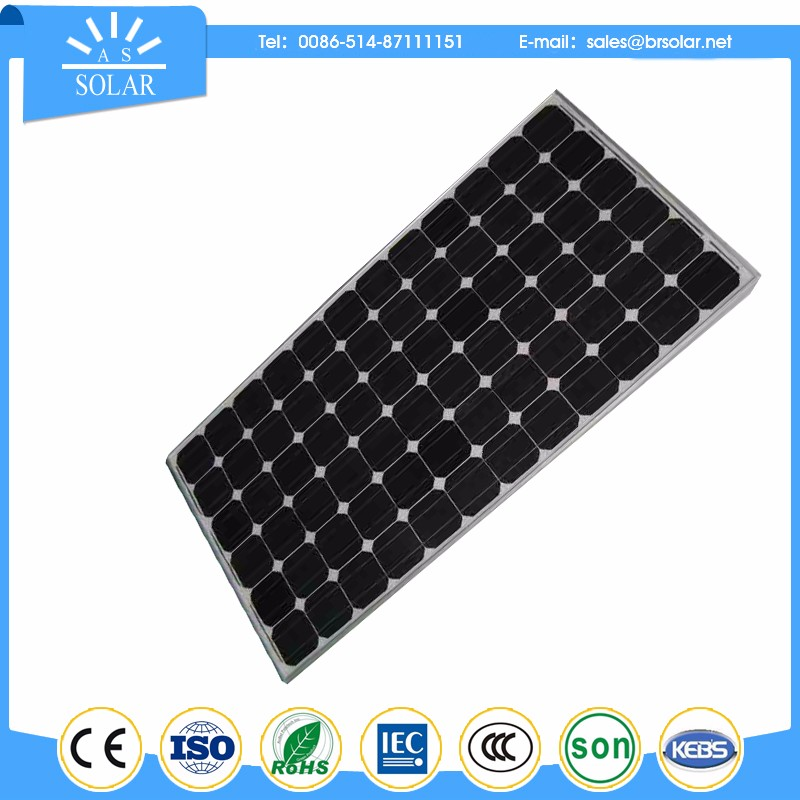 low price MODULAR DESIGNED amorphous silicon solar panel