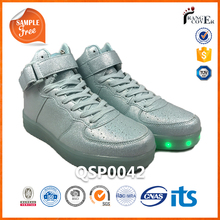 7 Color 11 Mode Flash Light Roller Light Up Glow Led Sneakers Shoes For Men