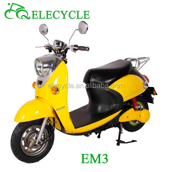 China 800W brushless motor rechargeable electric motorcycle for sale