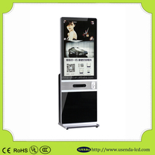 42inch Cheap webchat or instagram kiosk photo printing advertiising machine
