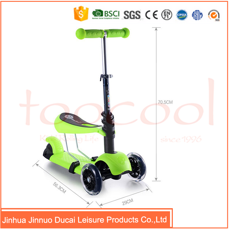 factory work pro portable kick scooter