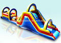Four arches cheap giant inflatable obstacle for sale, hot inflatable game obstacle course