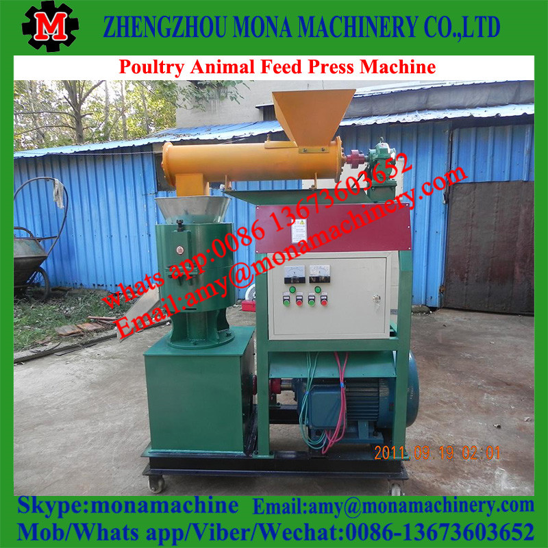 Good performance and professional chicken feed granulator/animal feed granule making machine for sale