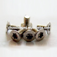 stainless steel flat head torx screw supplier