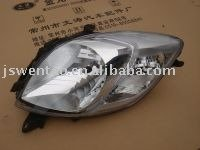 Yaris hatchback 2008 head lamp