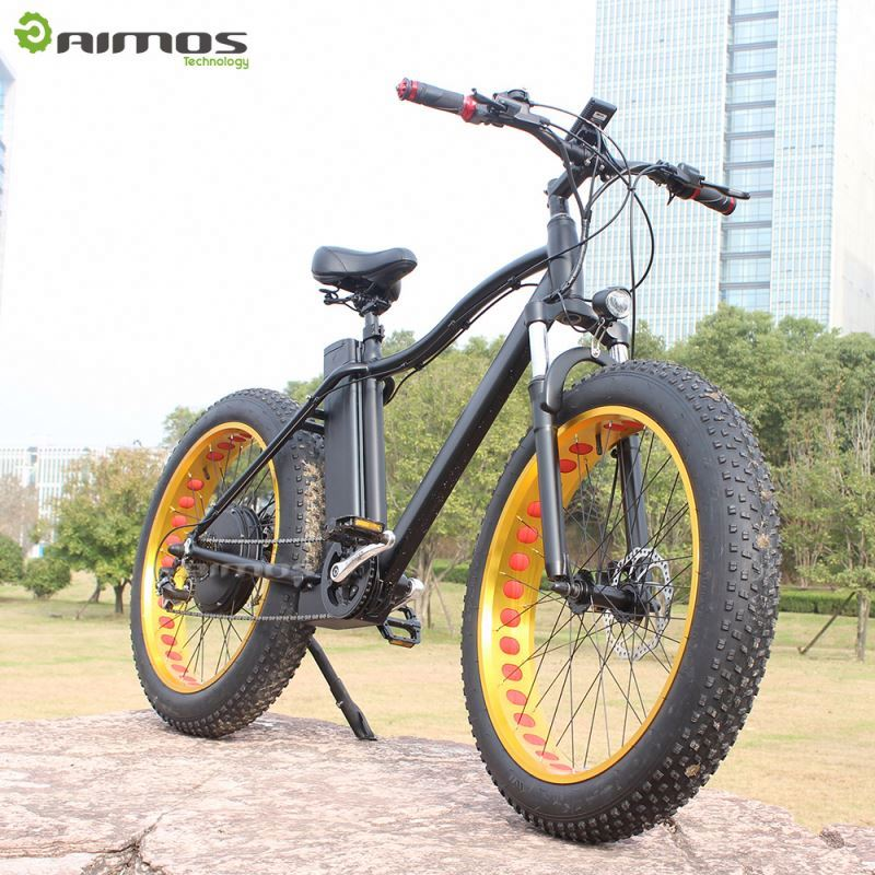 Good quality DYNABike brand 26 inch big tire aluminum alloy mountain bike electric