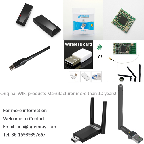 High Speed set top box satellites 1200Mbps wifi adapter