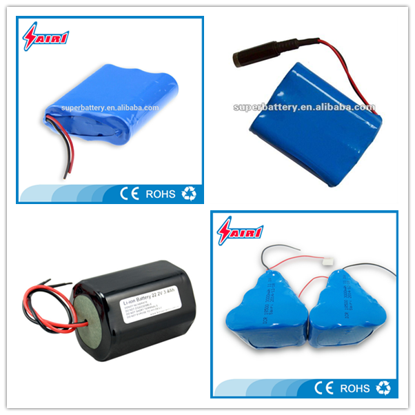 Deep cycle rechargeable li-ion 1800mAh 7.4V 15C battery