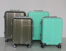 2014 Hebei new fashion beautiful abs cute trolley hard case luggage jewelry trolley case