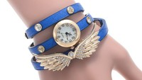 AliExpress Hot Models Angel Wings Diamond Ladies Watch Bracelet Watch