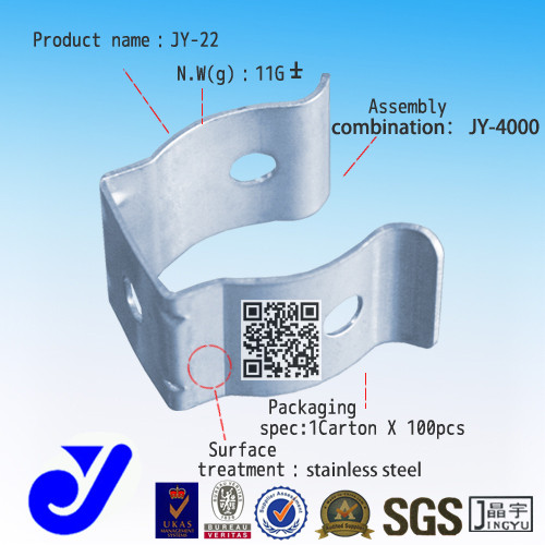 Shenzhen pipe joint passive component 3movs varistor|Tube buckle|JY-22