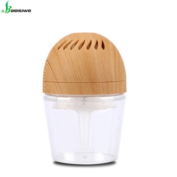 Factory supply LED light and USB Mini Air Freshener Car Air Purifier
