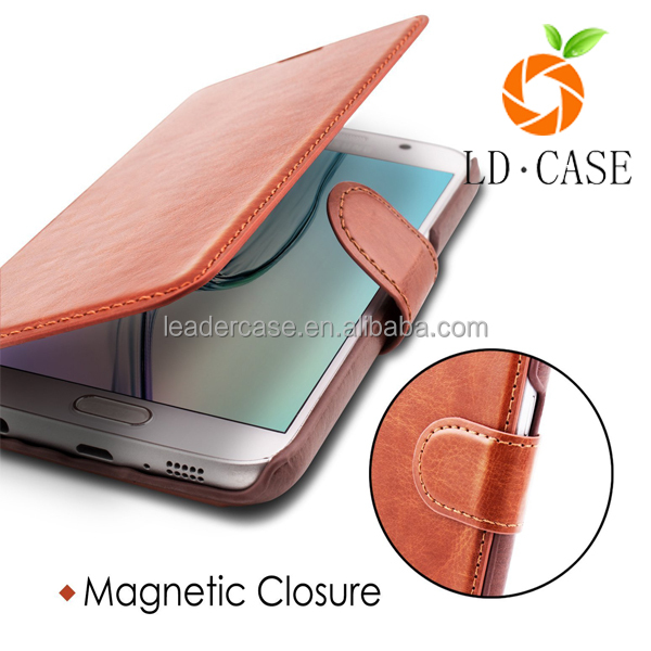 Wallet Leather Case For Samsung note 7 Smart Phone Hot New Products For 2016 Leather Case