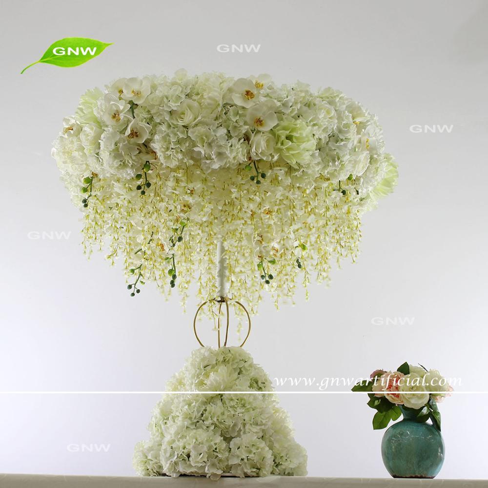 GNW CTR1507001 Wedding Table Centerpieces Decoration Hydrangea Orchid Centerpieces