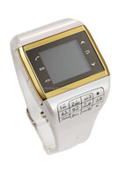 Fashion Watch Mobile Phone Q8 With Quad band Dual sim Dual Standby 1.4 inch Touch screen and 2.0MP Video Camera