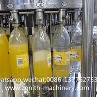Small Scale Carbonated Beverage Machinery Filling