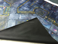 The large size miniature architecture models playmat, natural rubber waterproof playmat, 6'x4' wargame mat