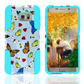 phone case for Samsung galaxy S6 edge plus, combine moblie phone case with butterfly design