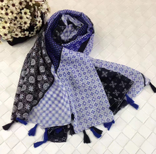 Diversified Popular Floral Pattern Soft Viscose Lady Scarf