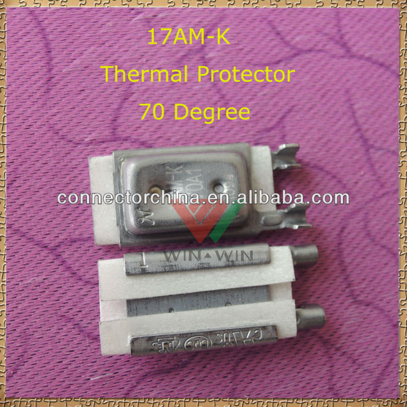 High Quality 17AM-K 70 Degree Electric Motor Thermal Overload Protector With Booming market in Canada & Brazil