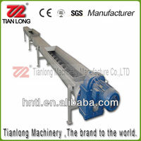 Inclined Feed screw grain auger conveyor used in concrete batching station