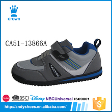 Mid grey color good quality wholesale cheap boys 2014 new style casual shoes