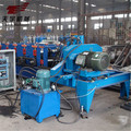 automatic steel aluminum C purlin panel cold rolling forming machine