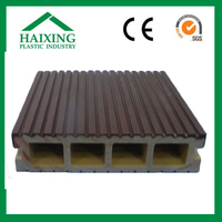 wood plastic composite fence panels decking synthetic with CE,SGS,ani-UV
