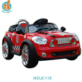 WDJE118 Electric Toy 12v Remote Control Baby Ride On Happy Car Led Headlight Gift For Kid