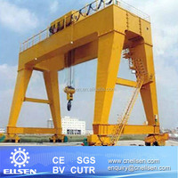 75 ton Double girder gantry crane used for factory yard