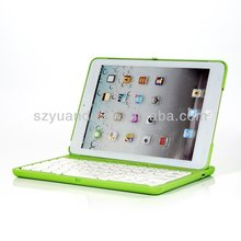 Factory direct hot sale,Bluetooth Keyboard with cover case for IPAD MINI