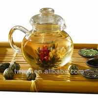2016 New hand made blooming tea amaranth and Jasmine flower tea