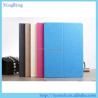 High quality pu leather case for ipad air 2,PU leather for apple ipad air 2 case with stand