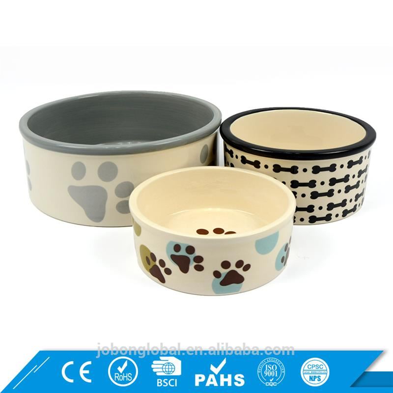 Free Samples Pet Bowls Feeders Feeding Drinking Wholesale Dog Ceramics Bowl