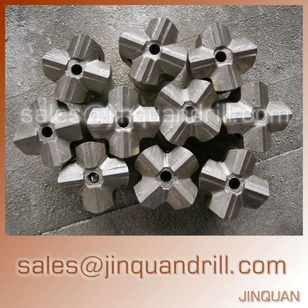 Low Price top hammer tools cross rock drilling bits