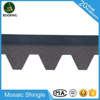 Hot selling Mosaic asphalt shingles prices,roofing material for house design