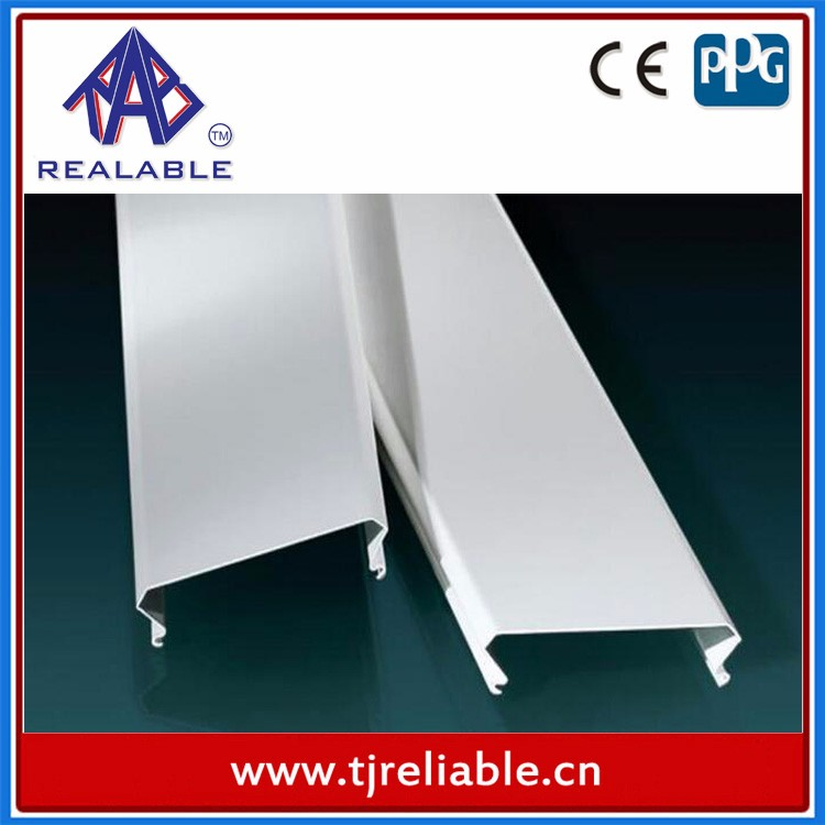 2015 Innovation Aluminum Profile Extrusion Products Tube Ceiling Series