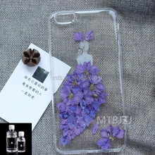Clear Dome Epoxy Resin Flexible Crystal AB Glue for Dry Flower Phone Case